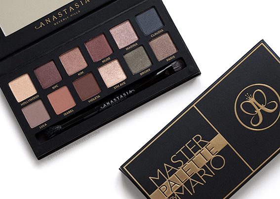 Anastasia Beverly Hills ABH Master Palette by Mario Eyeshadows Review Photos Swatches