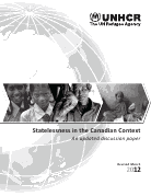 Statelessness in the Canadian Context