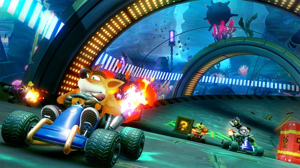 الكشف عن المزيد من العروض بالفيديو للعبة Crash Team Racing Nitro-Fueled و استعراض للشخصيات..