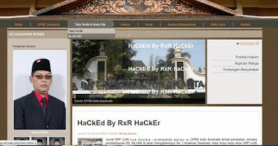 website-Korban-Hacker