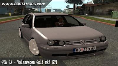 GTA SA - Volkswagen Golf mk4 GTI