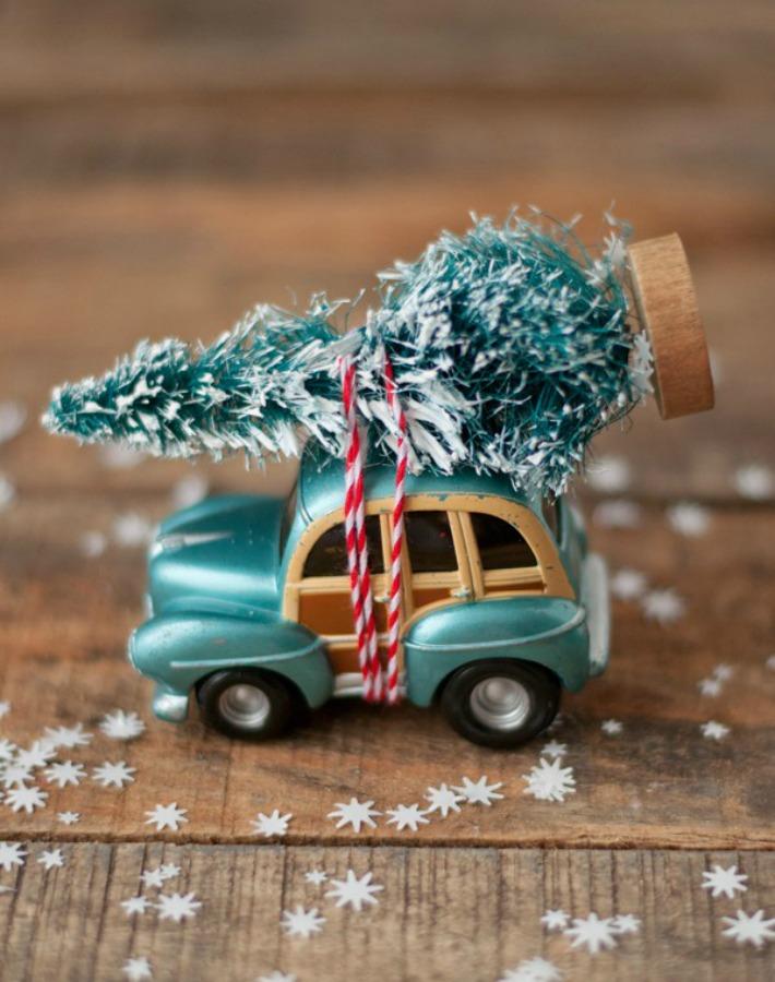 diy adorno navidad
