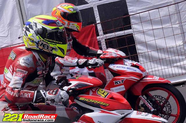 Kualifikasi MotorPrix Subang 2016, Rider Honda Sidrap Unggul Tercepat Kelas MP2
