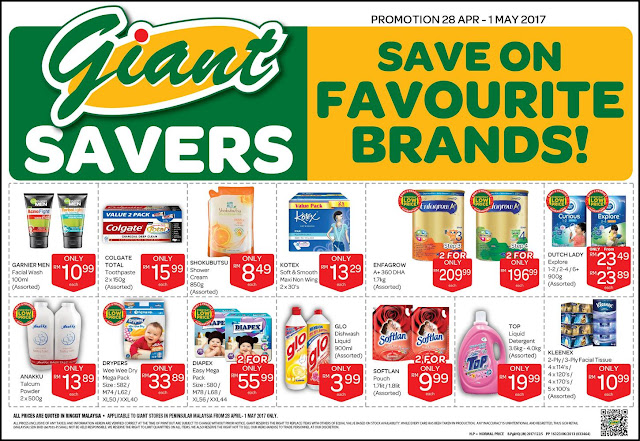 Giant Savers Discount Promo