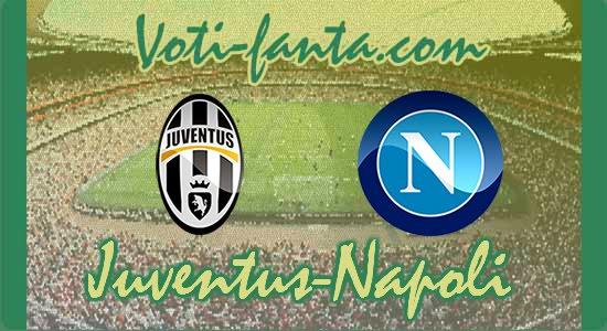 TIMCup Juventus Napoli, le formazioni ufficiali.
