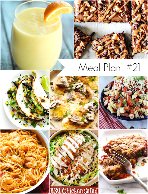 Ioanna's Notebook - Weekly Meal Plan #21 - Easy and Healthy Recipes for everyone