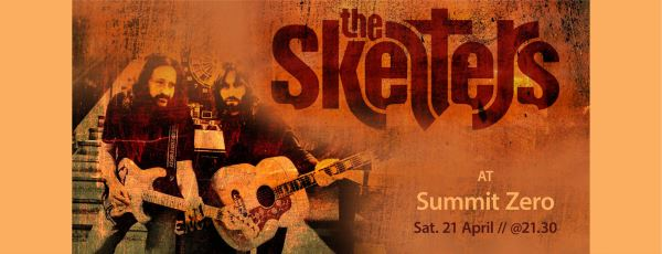THE SKELTERS:  Σάββατο 21 Απριλίου unplugged @ Summit Zero hostel (Λιτόχωρο)