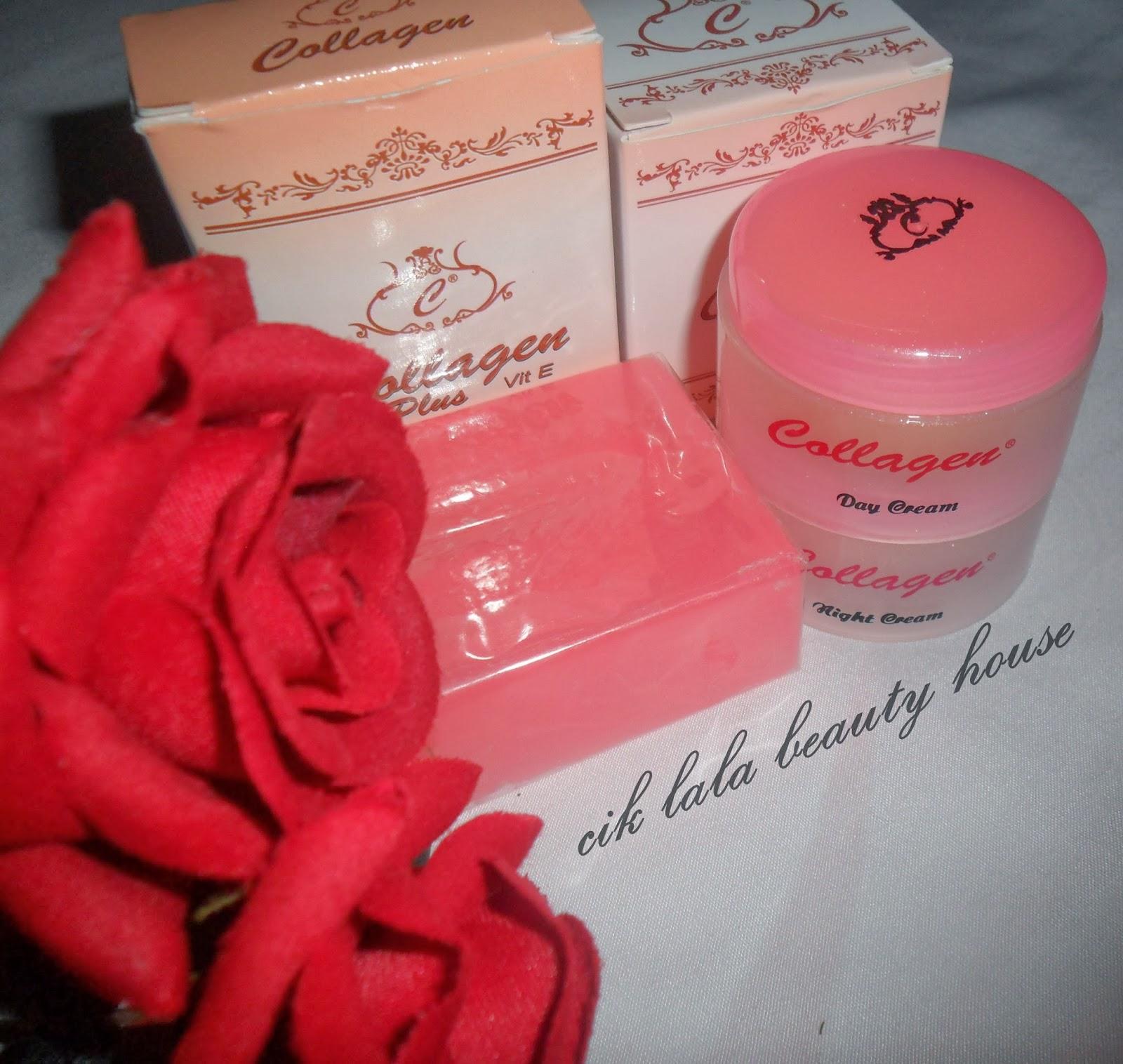 Bahan Untuk Hilangkan Bekas Jerawat Dan Bintik Bintik: Selamat Datang Ke Cik Lala Beauty House: Collagen Plus Vit
