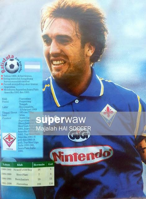Batistuta (Fiorentina 1997)