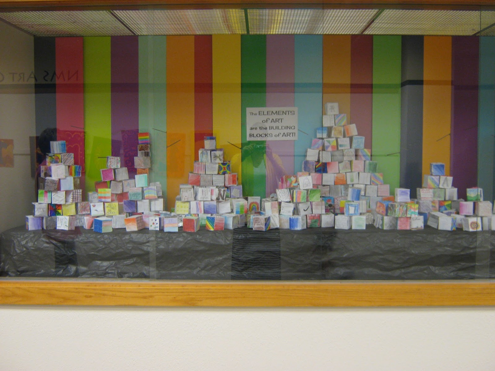 Building Blocks Of Art : Art in the middle school elements of cubes
