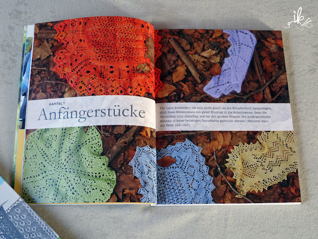 Shetland Lace Stricktuecher