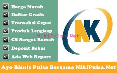 Profile dan Legalitas Usaha Server Niki Reload Bisnis Agen Pulsa Elektrik Online Termurah Jakarta Bandung Semarang Surabaya