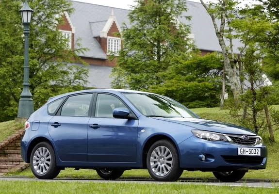the ultimate car guide quickie used car review subaru impreza hatchback 2007 2014. Black Bedroom Furniture Sets. Home Design Ideas