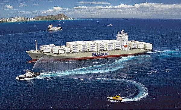 Dịch vụ vận tải biển Matson Hoa Kỳ