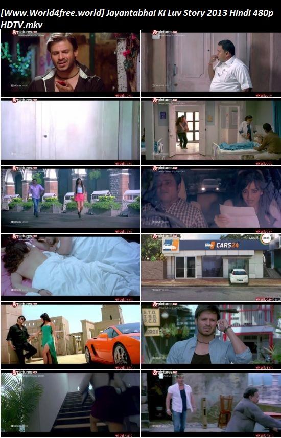 Screen Shoot of Jayantabhai Ki Luv Story 2013 Full Hindi 480p HDTV 400MB