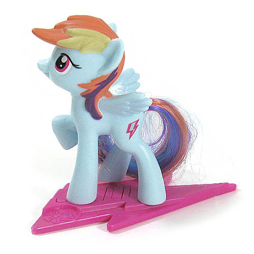 My Little Pony Happy Meal Toy Rainbow Dash Figure by McDonald's