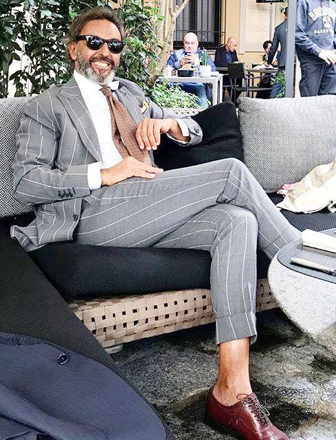 Mixed man fashion.