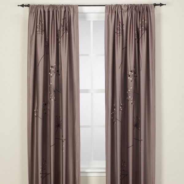 Contemporary window treatments panels 2011 modern - Modern window treatment ideas ...
