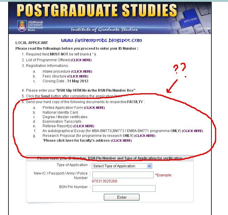 postgraduate uitm coursework