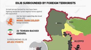 Inilah 22 Kelompok Teroris Syiah Dukungan Iran yang Mulai Mengepung Idlib