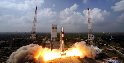 Mangalyaan blasts off from its launchpad