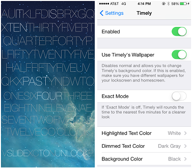 Cydia Tweak Timely