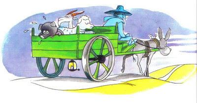 el cerdo el carnero y la cabra fabula
