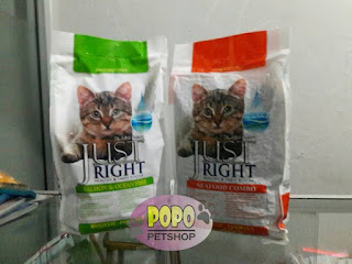 just right catfood
