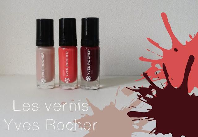 Vernis Couleurs Végétales Yves Rocher