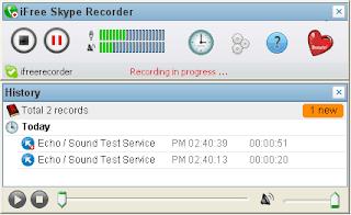 برنامج, iFree ,Skype ,Recorder, لتسجيل, مكالمات, سكايب, اخر, اصدار