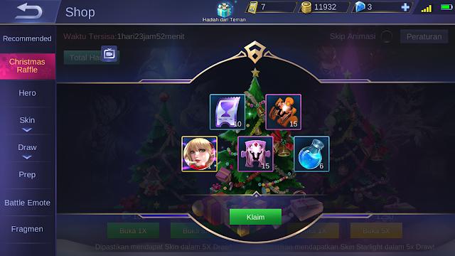 Tutorial Mendapatkan Skin Starlight Gratis Mobile Legends 3