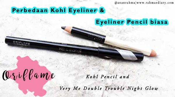 Oriflame Kohl Pencil dan Very Me Double Trouble Night Glow