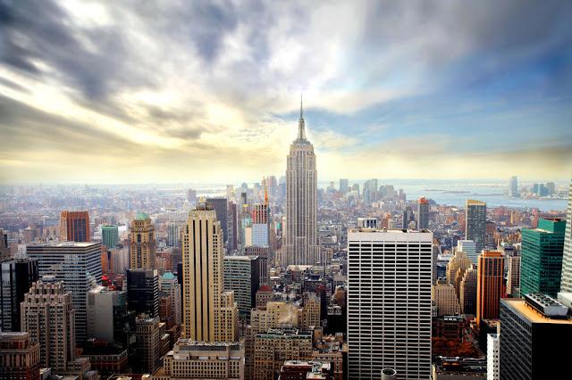 Kaupunki tapetti New York Valokuvatapetti maisematapetti