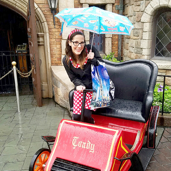 Rainy Days at Disneyland- Mr. Toad's Wild Ride
