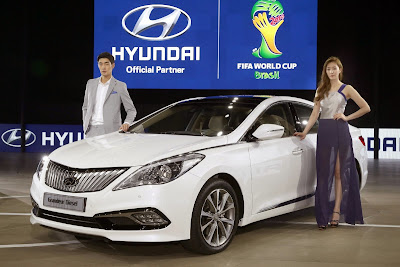 Hyundai introduced its new sedan which was named alsan