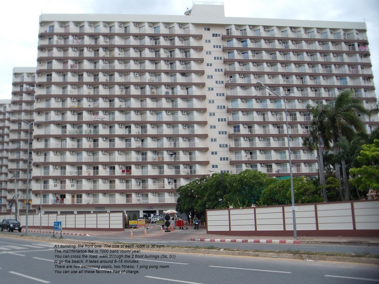 Jomtien Beach Condominium for rent  long term or short term rent. Jomtien Beach Condominium for rent  Jomtien Beach Condo is the