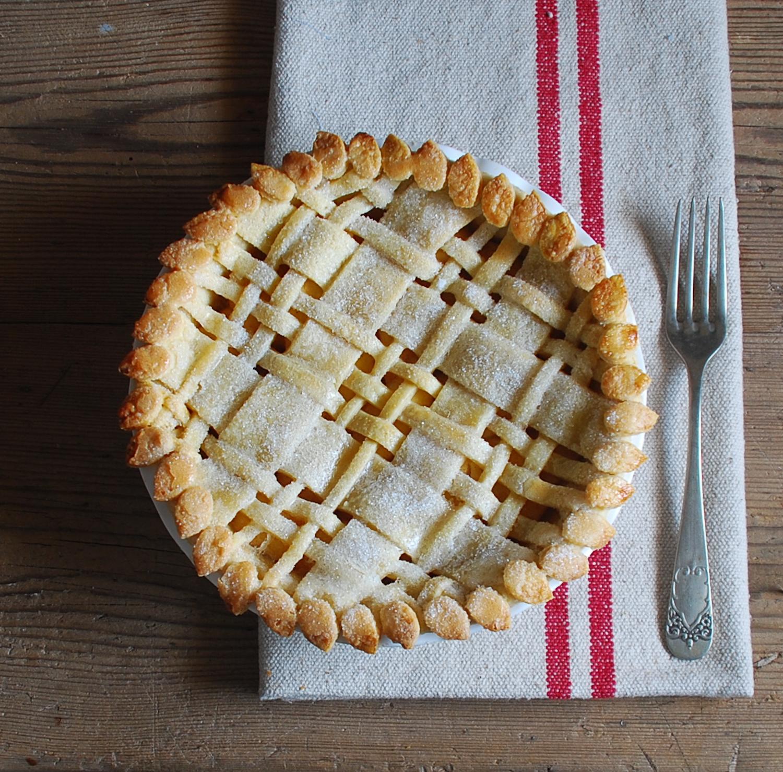 Tarta de manzana - Dulces bocados