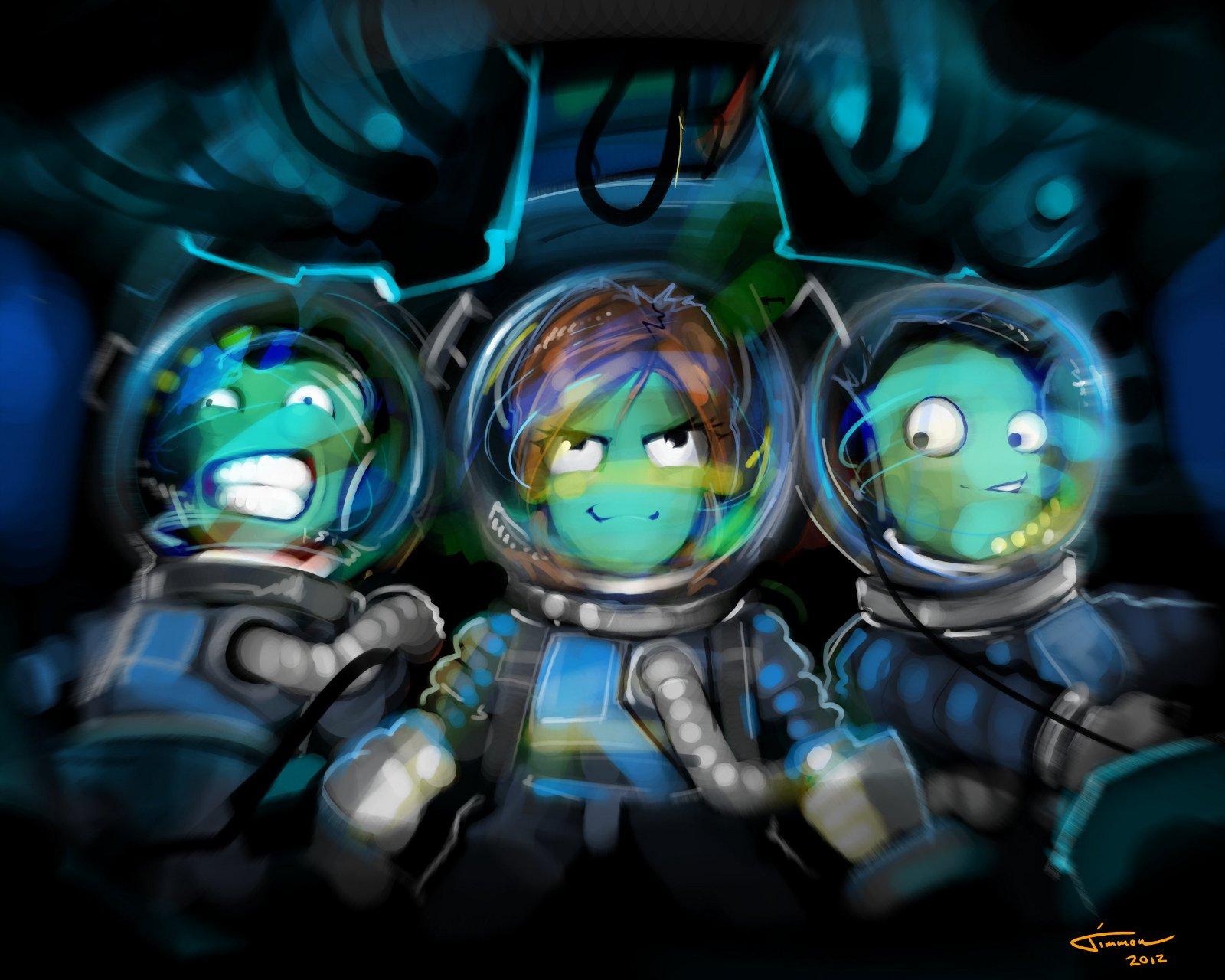 Kerbal Space Program mk 3: Jebediah has competition ...
