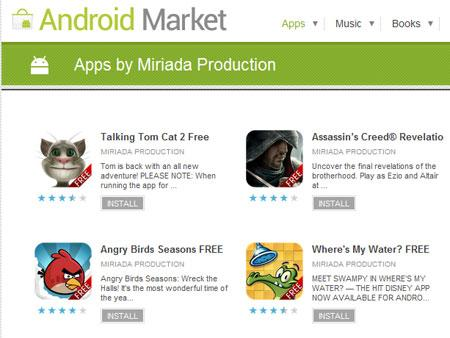 Fake Angry Birds Game spreading Malware from Android Market