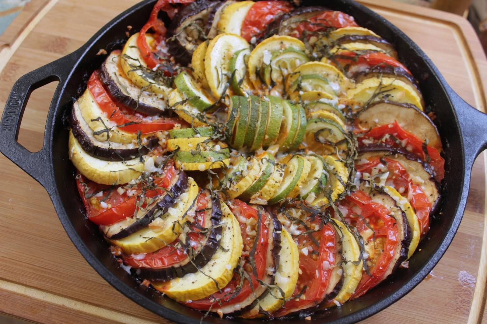 Beautiful Ratatouille like the movie!