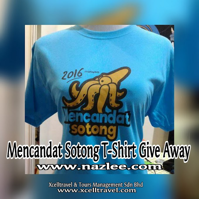 MENCANDAT SOTONG T-SHIRT GIVE AWAY