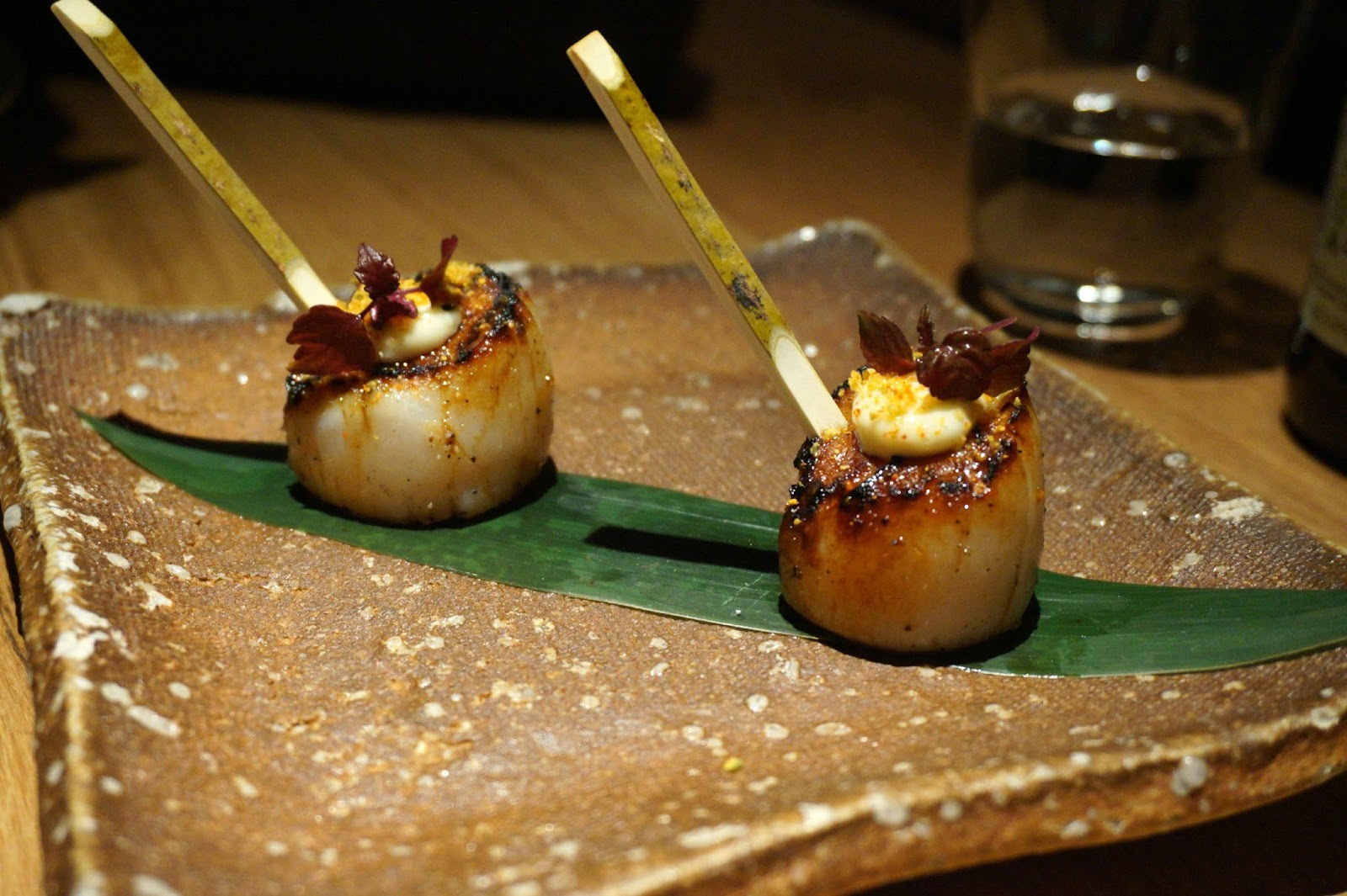 scallops on skewers