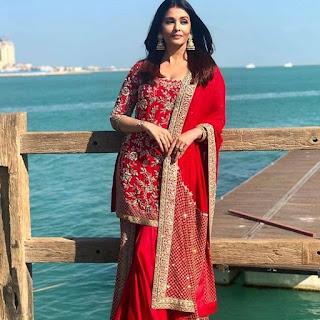Aishwarya Rai Bachchan in Qatar