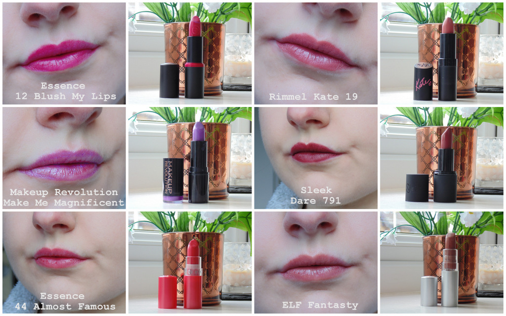 Drugstore Lipstick Collection + Swatches #2