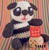 patron gratis oso pandaamigurumi, free pattern amigurumi panda bear