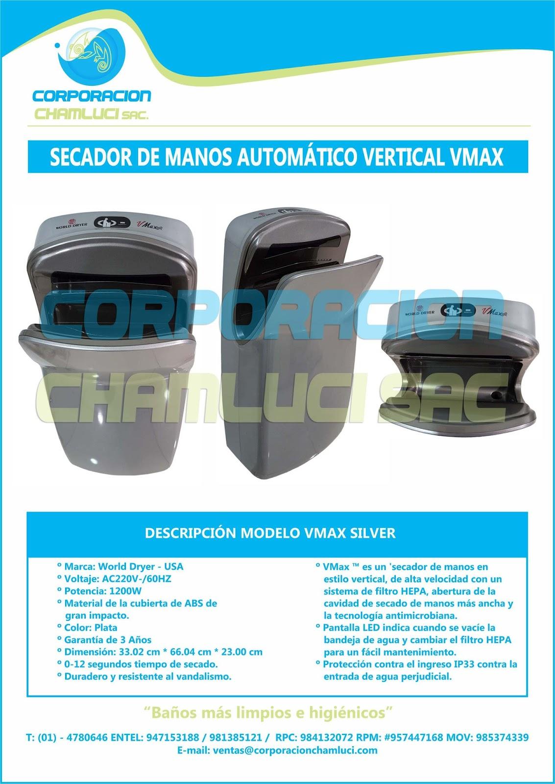 PRODUCTOS DE LINEA INSTITUCIONAL Y HOTELERA  secador de manos ... 346f4aaef868