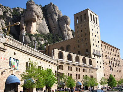 Montserrat Abbey in Catalonia