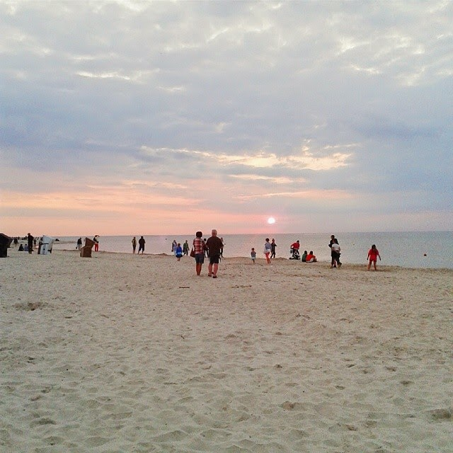 plaża Dębki