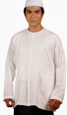 Baju Muslim Warna Putih Untuk Pria Dan Wanita