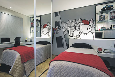 Dormitorio peque o juvenil - Decoracion dormitorios juveniles masculinos ...